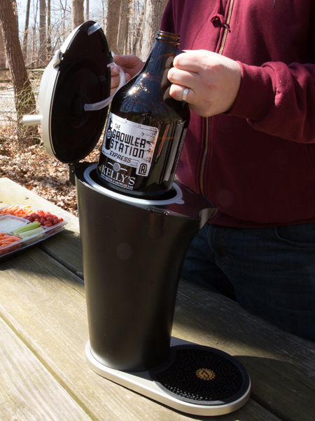 Fizzics is Compatible with Cans, Bottles, & Growlers