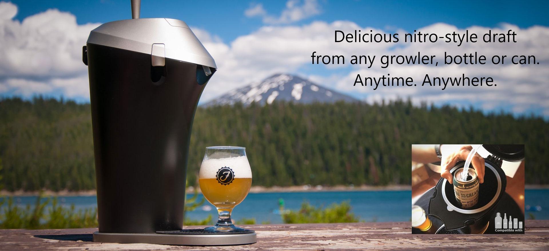 Bottle and Can Beer Dispenser | Fizzics | www fizzics com