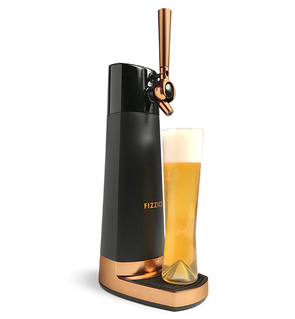 Our draft beer dispenser available to purchase in multiple colors